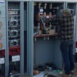Electric meter panel wiring